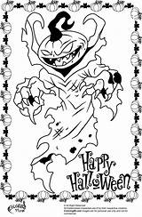 Halloween Scary Coloring Pages Monster Pumpkin Printable Creepy Pumpkins Drawing Clown Colouring Print Adult Cute Icp Happy Books Printables Getdrawings sketch template
