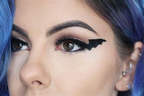 Fledermaus schminken Tolle Schminktipps für Augen, Mund
