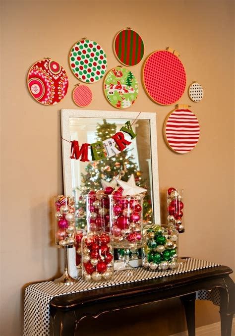 Find great deals on wall décor and wall art at kohl's today! 40 Quick & Easy Christmas Wall Decorations Ideas - Decoration Love