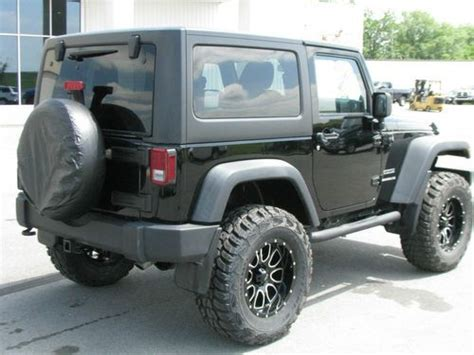 lifted jeep wrangler 2 door purchase used lifted 2011 jeep wrangler sport 2 door 3 8l