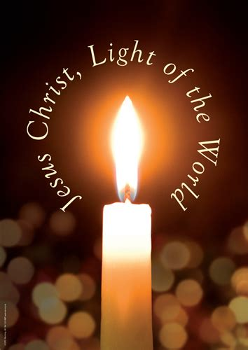 jesus is the light light a candle lift a prayer unto the light of the world