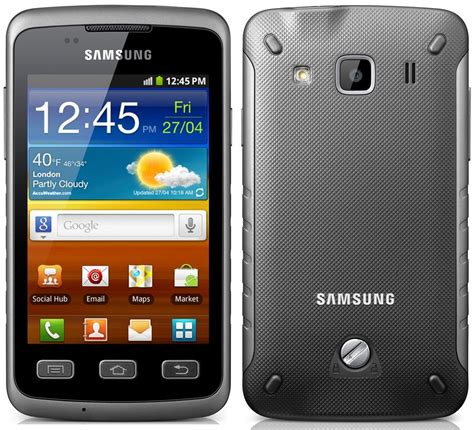 samsung s5690 galaxy xcover specs review release date phonesdata