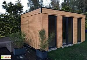 Chalet De Jardin Contemporain : bungalow chalet mon am nagement jardin ~ Premium-room.com Idées de Décoration