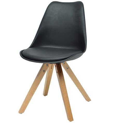 chaise blanche bois chaise moderne blanche cheap chaise blanche et bois clair
