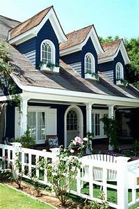 Dark Blue House Front Door Color For Dark Blue House Ideas