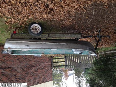 Boat Trailers For Sale Dayton Ohio by Armslist For Sale Jon Boat And Trailer