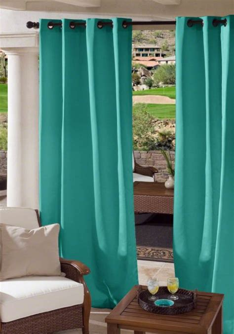 custom outdoor grommet drapes cloverlook