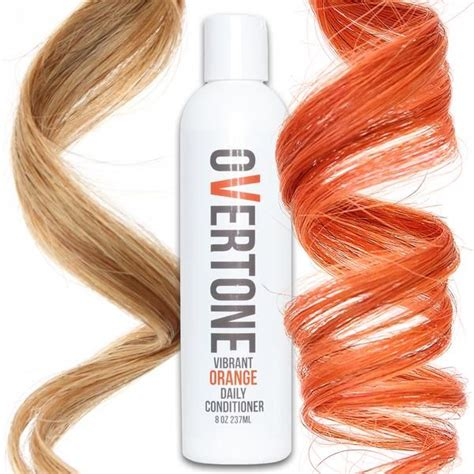 vibrant orange daily conditioner kyujitsu red hair