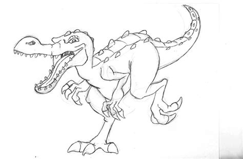 Hd Wallpapers Rudy Dinosaur Coloring Page