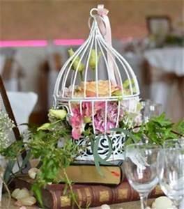 Cage Oiseau Deco : vases martini et centres de table ~ Teatrodelosmanantiales.com Idées de Décoration
