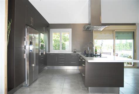 cuisine avec frigo americain integre kirafes