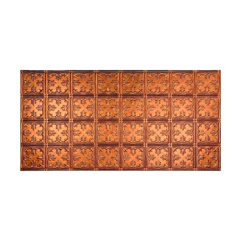 fasade ceiling tiles home depot fasade traditional 10 2 ft x 4 ft glue up ceiling tile