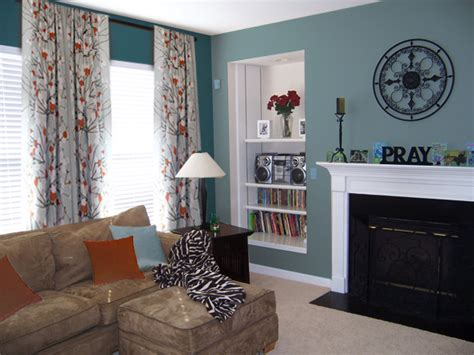brown and teal living room decor teal and brown living room ideas