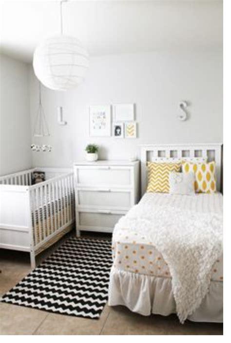 Very Gender Neutral Bedroomnursery White, Black And