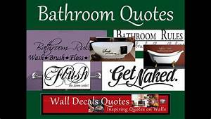 Bathroom quotes youtube for Bathroom funny videos