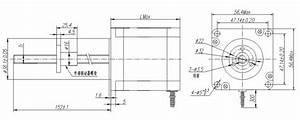 External Drive Tr8 Tr10 Screw Nema 23 Lead Screw Stepper Motor Linear