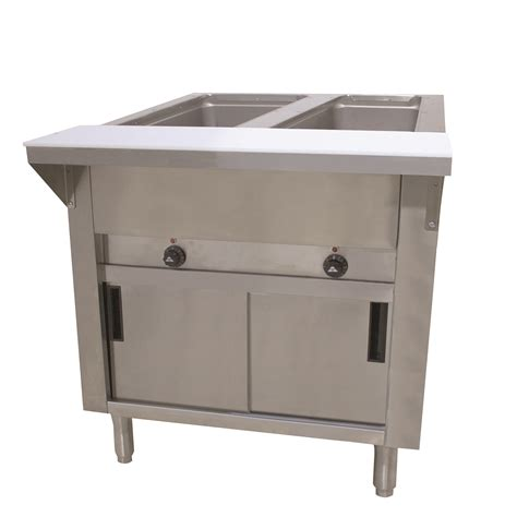 advance tabco hf 2e 120 dr hot food table ckitchen com