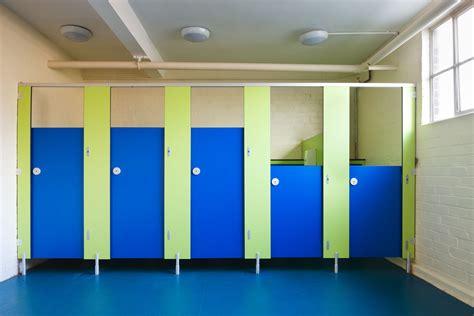 education school toilets cubicles colours ideas