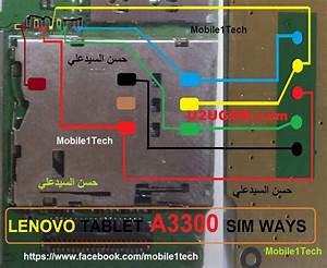 Lenovo Tab A3300 Insert Sim Card Problem Solution Jumper