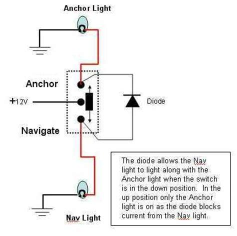 Nav Anchor Light Circuit Page The Hull Truth