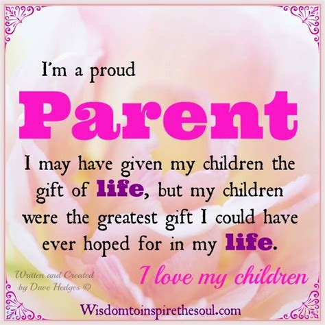 Parent Proud Of Child Quotes