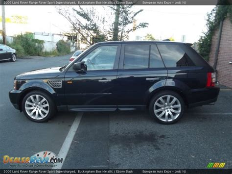 range rover dark blue 2006 land rover range rover sport supercharged buckingham
