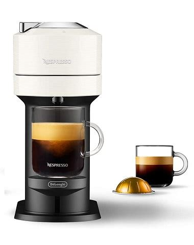 Nespresso by delonghi vertuo plus coffee and espresso maker features dual capsules for brewing either coffee or espresso with consistent flavor at the touch of a button. *Expired* Nespresso Vertuo Next Coffee and Espresso Machine by De'Longhi - $99.99 (reg. $193 ...