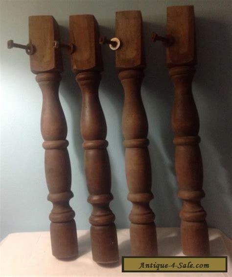 vintage wood tablechair legs set sale united