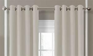 Anneaux Rideaux à Clipser : rideaux occultants de luxe avec anneaux groupon ~ Premium-room.com Idées de Décoration