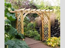 Large Ultima Pergola Arch from Forest Garden Products