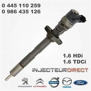 Joint Injecteur 1 6 Hdi 110 : injecteur bosch 0445110259 0986435126 injecteur direct ~ Melissatoandfro.com Idées de Décoration