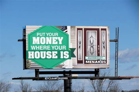 billboards provide home improvement solutions  homeowners