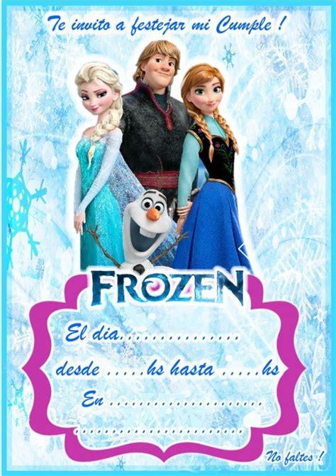 invitaciones infantiles cumpleaos frozen invitaciones de frozen las 20 mejores invitaciones de