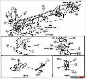 1997 Ford F150 Exhaust Diagram