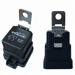 5 Pack 40  30 Amp 5 Pin Spdt Waterproof Relay 12 Awg Hot Wires Car 12v Dc Bosch Style Automotive