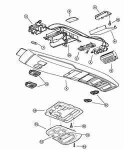 1994 Jeep Wiring  Overhead Console  Full  Type Ii  Trim