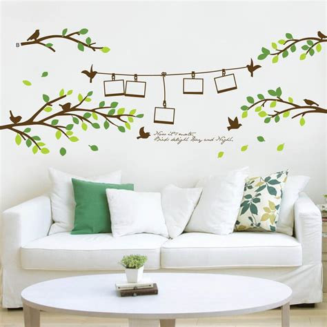 Wall Decor Stickers by Wall Decals Decor Home Decorative Paper Window Wall