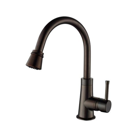 Kraus Kitchen Faucet Rubbed Bronze by Faucet Khf200 30 Kpf2220 Ksd30orb In Stainless Steel