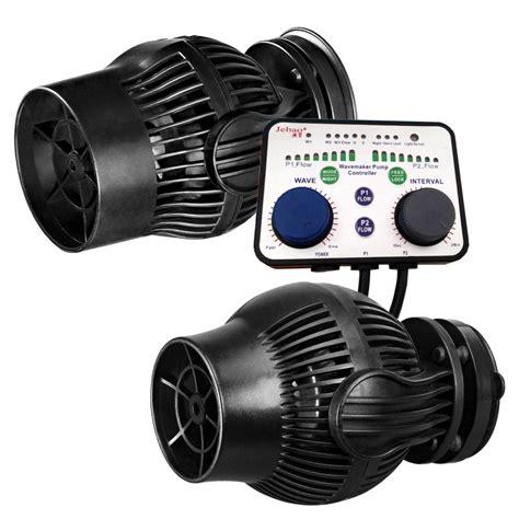 jebao kit de 2 pompes de brassage wp 40 wp 60 avec controller et alimentation 6 232 res
