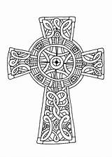 Cross Coloring Celtic Pages Sheets Crucifix Amazing Mandala Printable Adults Drawing Cornish Crosses Colouring Adult Tocolor Patterns Sheet Place Getdrawings sketch template