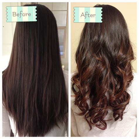 Short Curl Hair Spiral Perm Before And After   Short