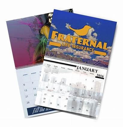 Spiral Bound Calendar Calendars Wall Printing Specialty