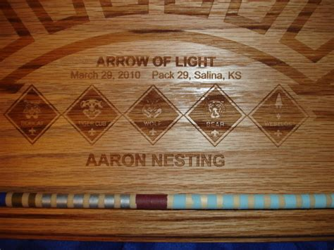 arrow of light award arrow of light awards for pack 29 by drdirt