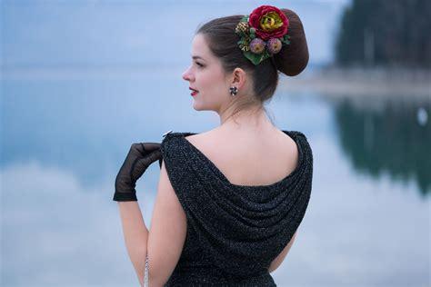 50iger Jahre Möbel by Festliche Vintage Mode Ein 50er Jahre Kleid Und