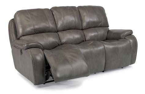 power reclining sofa with usb ports power reclining sofa with nailheads and usb charging ports