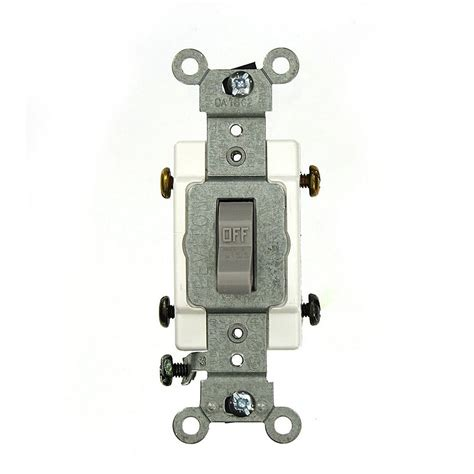 Leviton Amp Commercial Grade Double Pole Back Wired