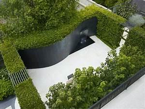 Brunnen Garten Modern : 50 moderne gartengestaltung ideen ~ Michelbontemps.com Haus und Dekorationen