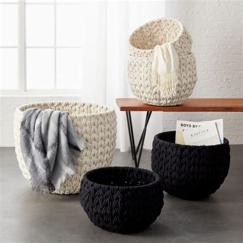 conway cotton rope basket cb