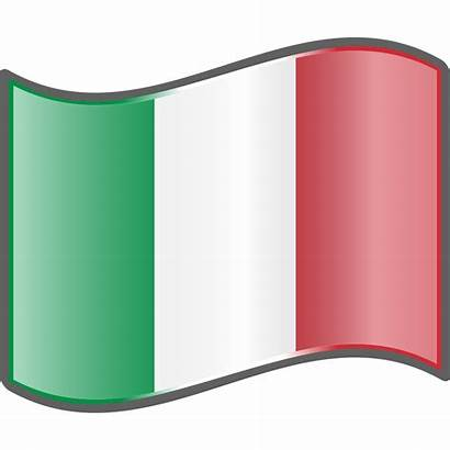 Flag Svg Nuvola Clipart Italy French Nigerian
