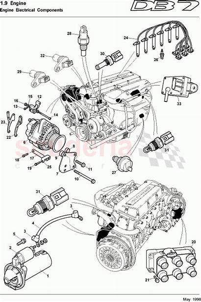 Engine Db7 Martin Aston Electrical Components Parts